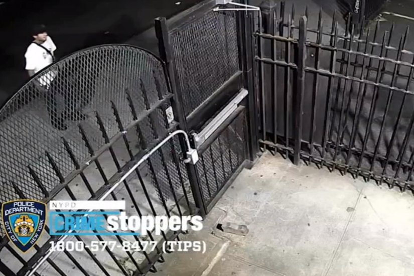 Watch: Video shows burglars leaving with $17k in laptops from Bronx school